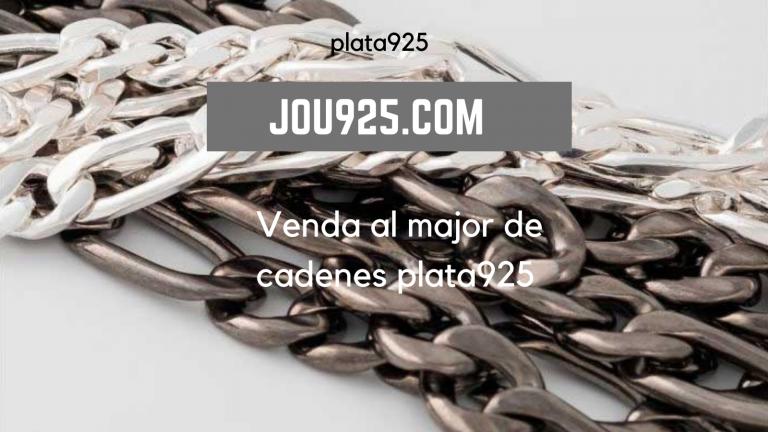 Venda de cadenes en plata 925