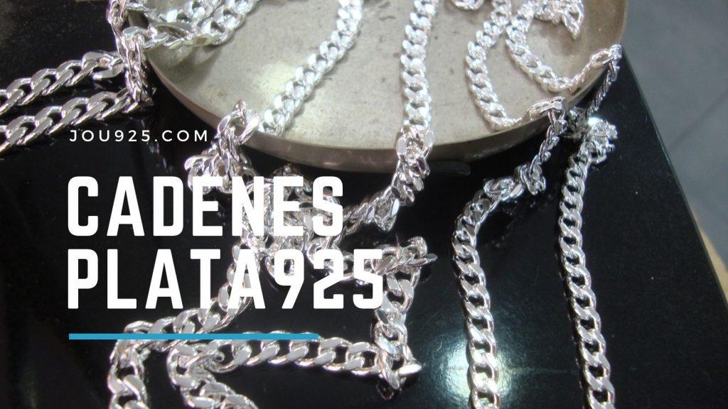 Cadenes plata 925