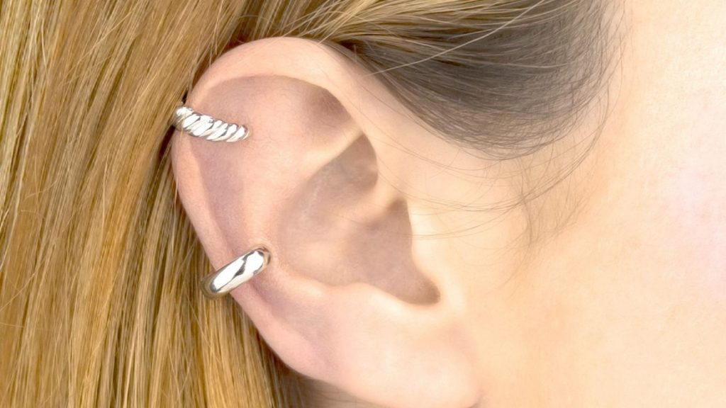 Ear cuff plata 925