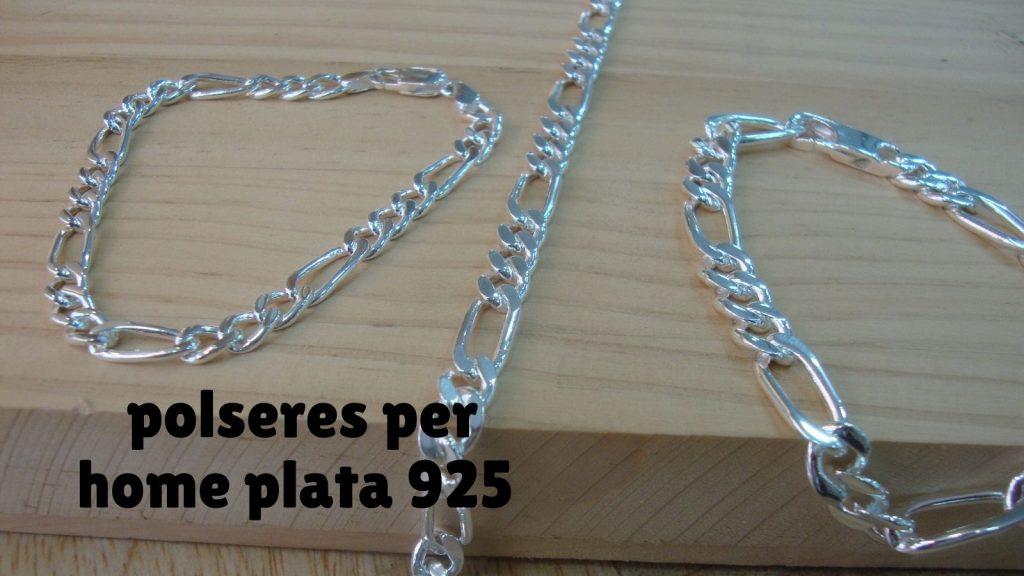 polseres per home plata 925